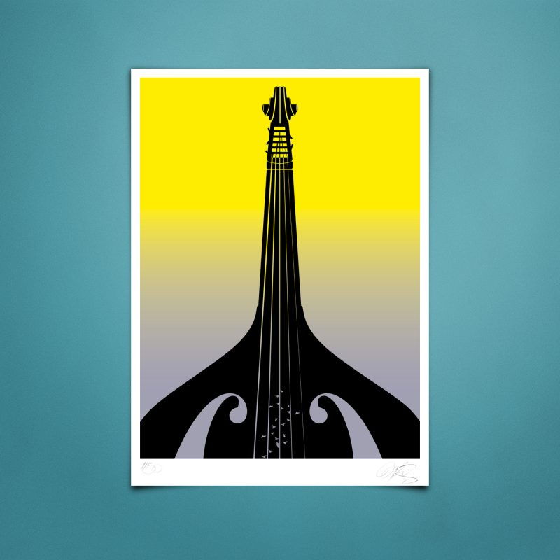 Basstower Tirage Fine Art sur papier Hahnemühle | édition limitée