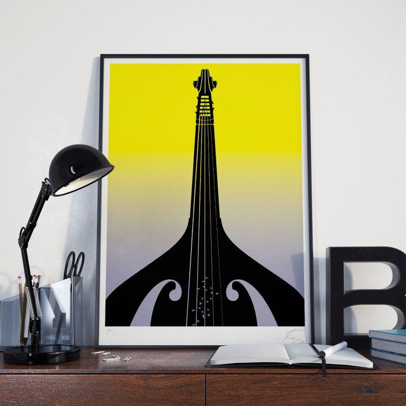 Basstower Tirage Fine Art sur papier Hahnemühle | édition limitée | Christophe Andrusin