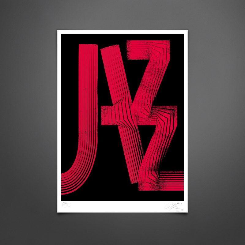 Jazz #01 Tirage Fine Art sur papier Hahnemühle | édition limitée
