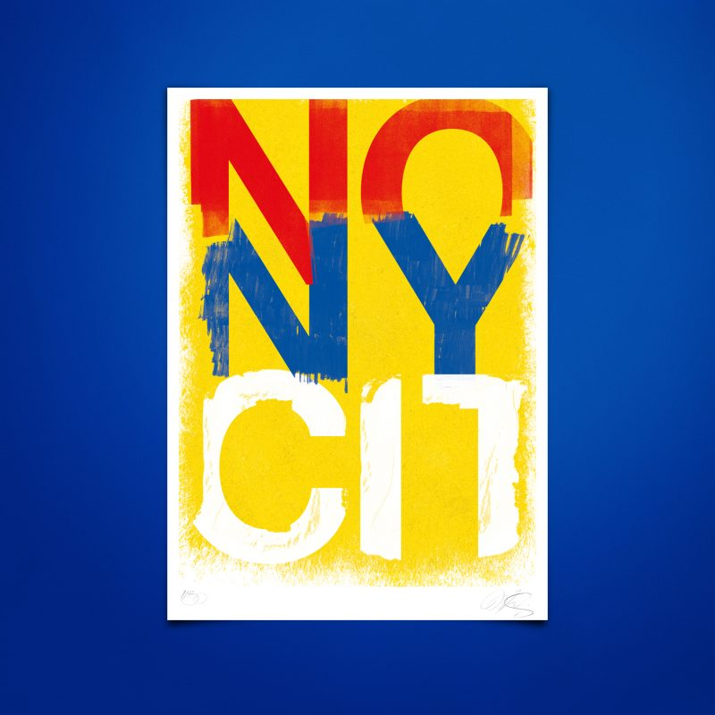 No New York City Tirage sur papier Hahnemühle   édition limitée   Christophe Andrusin
