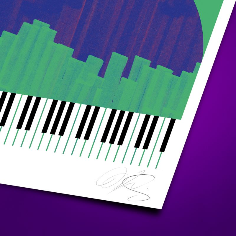Piano-Yorker Tirage Fine Art sur papier Hahnemühle   édition limitée   Christophe Andrusin
