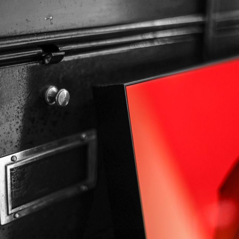 """Cocarde#03 """"à la française"""" tirage en subligrahie sur plaque d'aluminium Chromaluxe   édition limitée   Christophe Andrusin"""