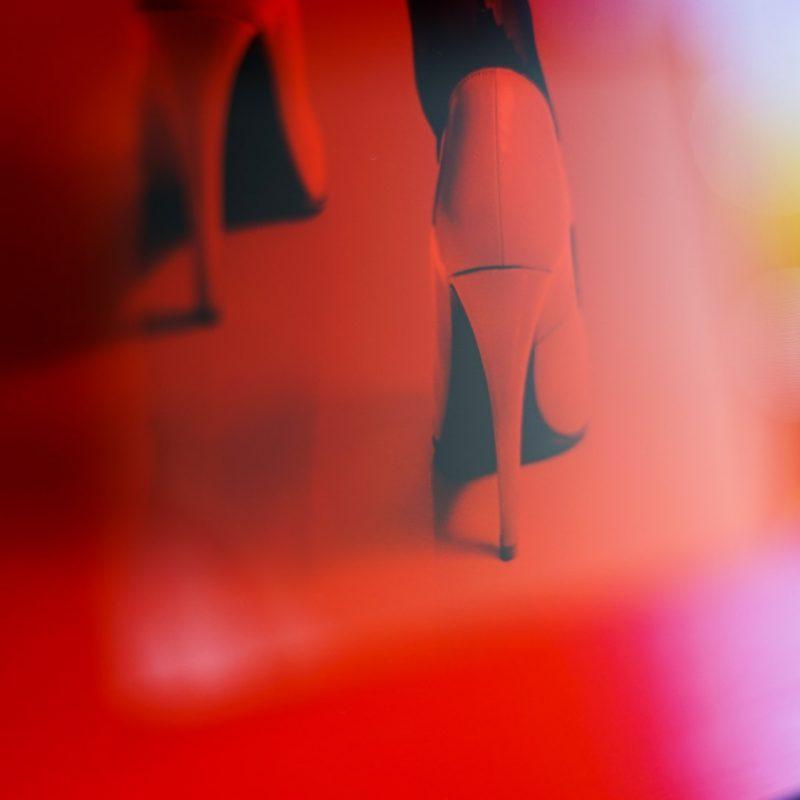 Cocarde#03 tirage en subligrahie sur plaque d'aluminium Chromaluxe   édition limitée   Christophe Andrusin