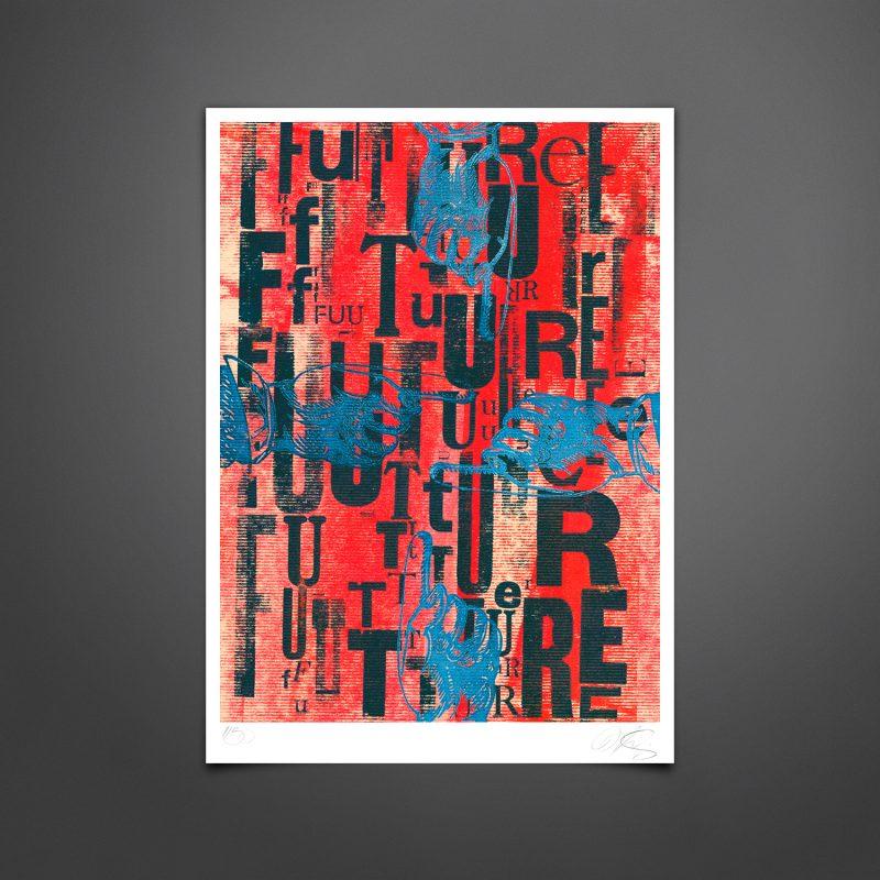 Future #01 Tirage Fine Art sur papier Hahnemühle | édition limitée