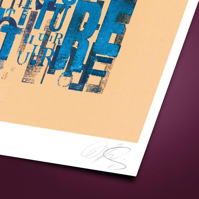 Future #02 Tirage Fine Art sur papier Hahnemühle | édition limitée | Christophe Andrusin