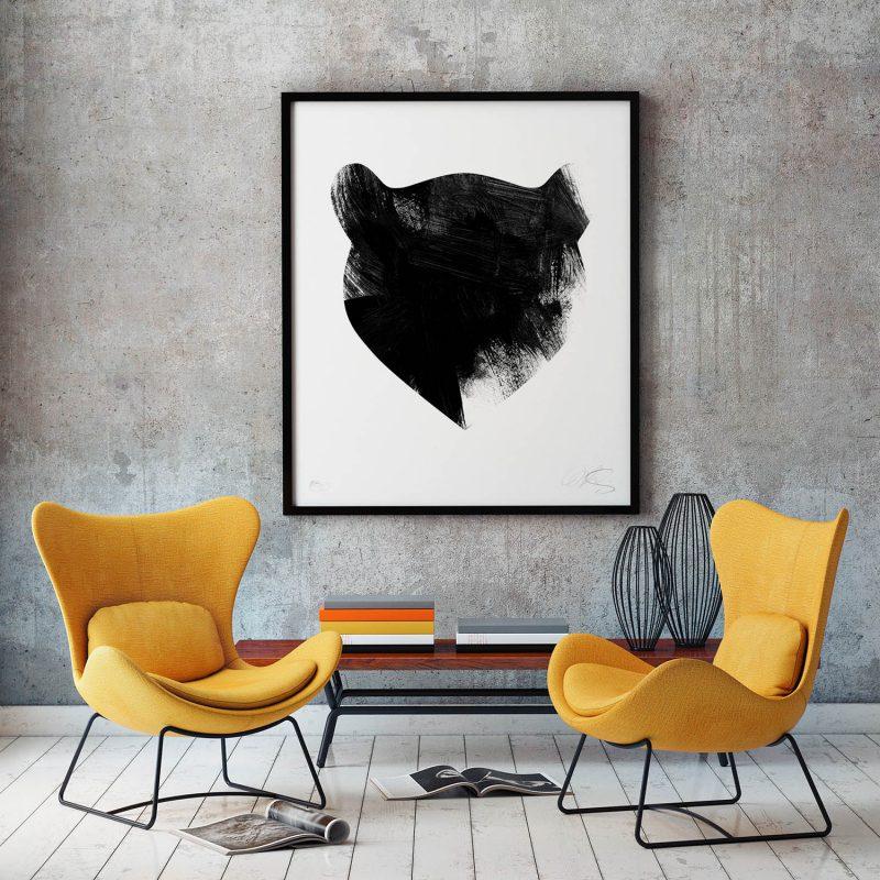 Bear Tirage Fine Art sur papier Hahnemühle | édition limitée | Christophe Andrusin