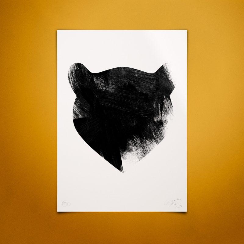 Bear Tirage Fine Art sur papier Hahnemühle | édition limitée L Christophe Andrusin