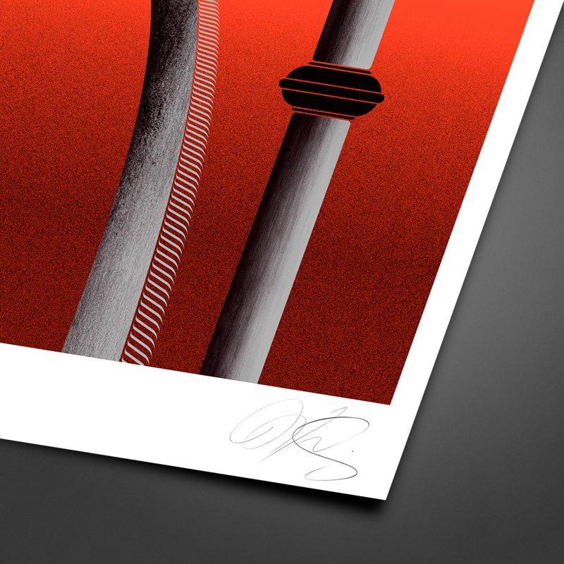 Carnyx Tirage Fine Art sur papier Hahnemühle   édition limitée