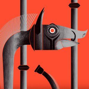 Carnyx tirage en Fine art sur papier Hahnemühle | édition limitée