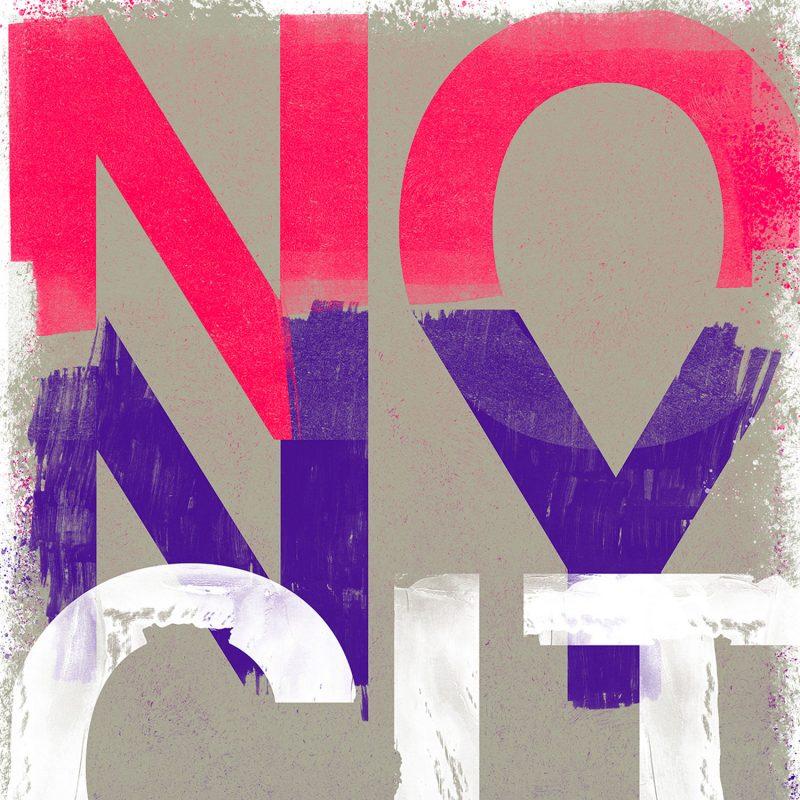 NO New York Pink tirage en subligraphie sur plaque d'aluminium Chromaluxe   édition limitée