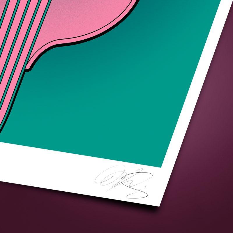 Elephant Contrabass Tirage Fine Art sur papier Hahnemühle | édition limitée | Christophe Andrusin
