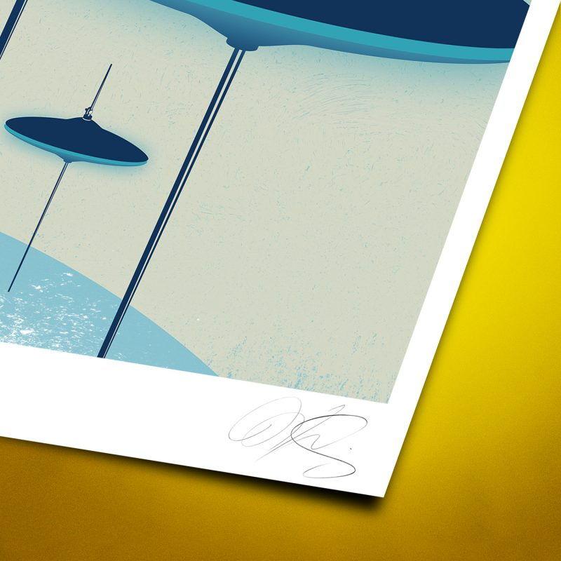 Cymbals attack Tirage Fine Art sur papier Hahnemühle | édition limitée | Christophe Andrusin