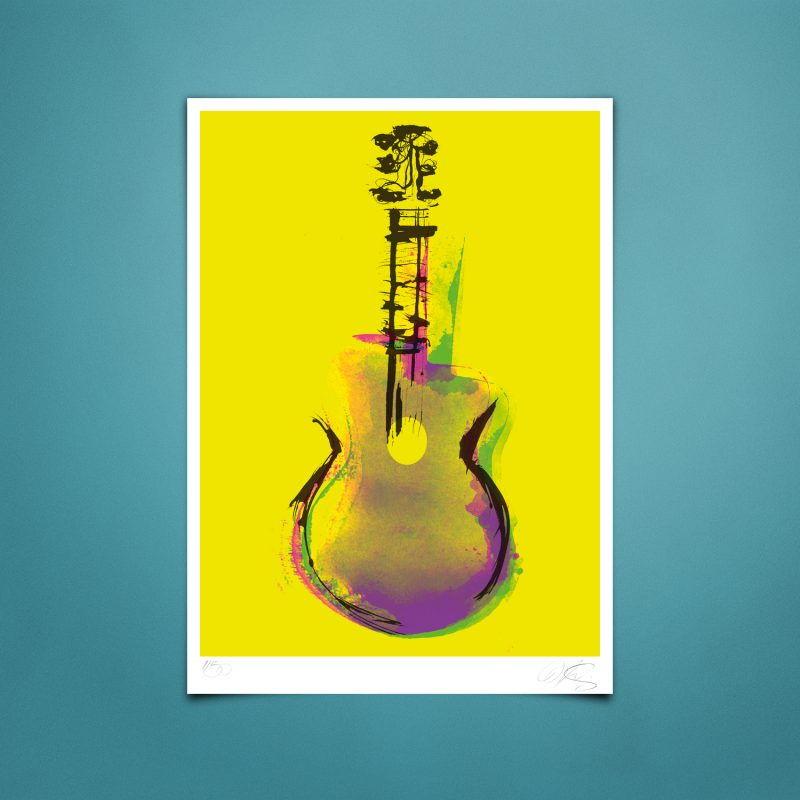 Django Pop' Tirage Fine Art sur papier Hahnemühle | édition limitée