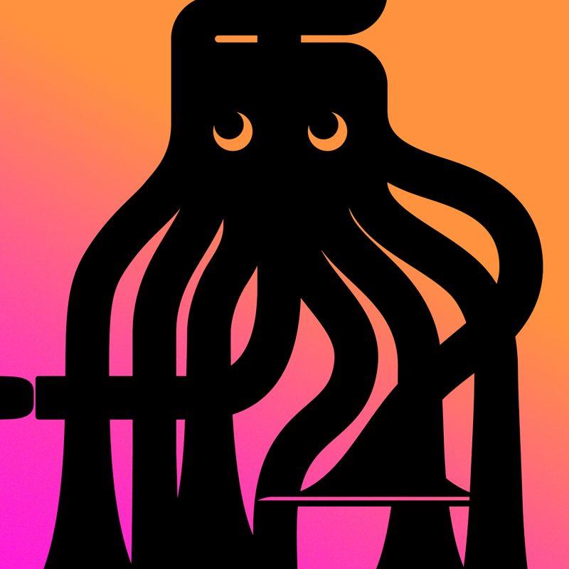 Octopus Tirage Fine Art sur papier Hahnemühle | édition limitée