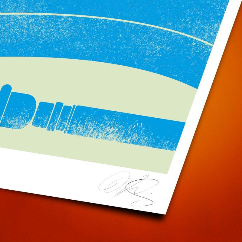 Soubamoon Tirage Fine Art sur papier Hahnemühle | édition limitée | Christophe Andrusin