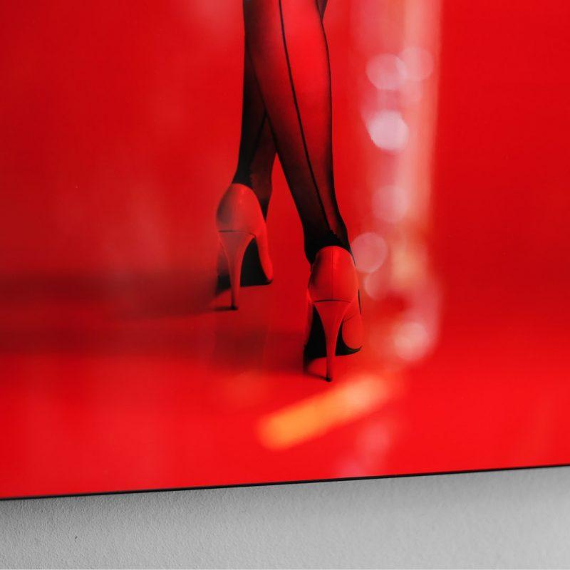 Cocarde#03 tirage en subligrahie sur plaque d'aluminium Chromaluxe | édition limitée | Christophe Andrusin