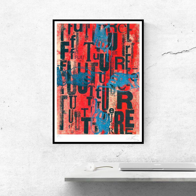 Future #01 Tirage Fine Art sur papier Hahnemühle | édition limitée | Christophe Andrusin
