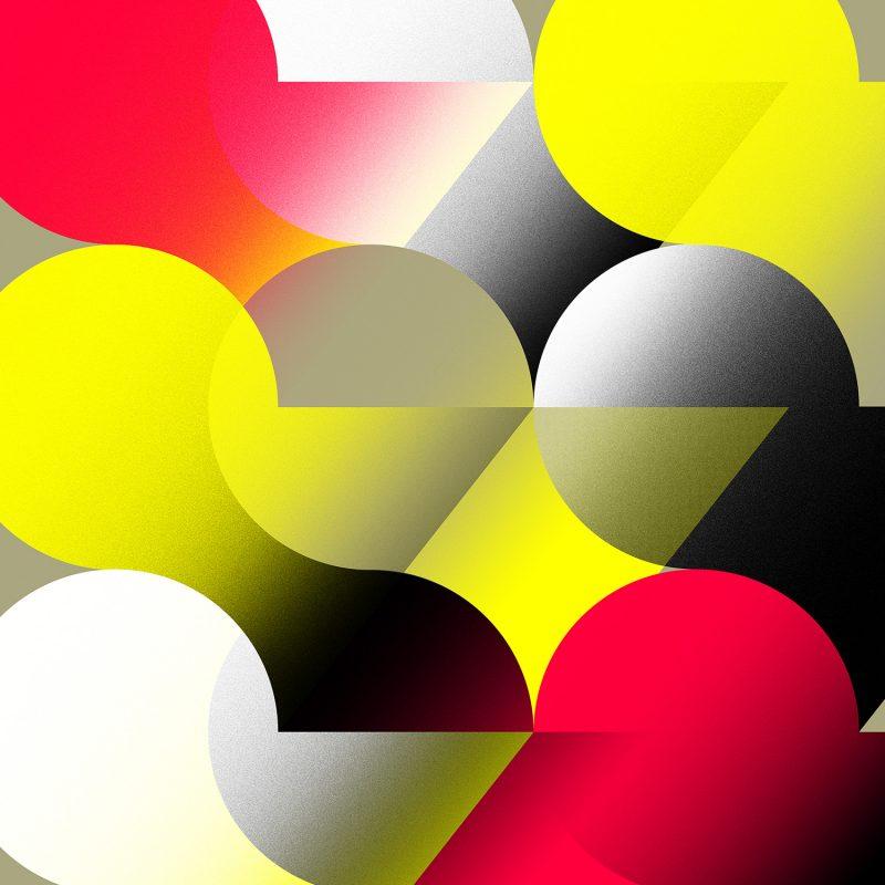 Sphere #04 tirage en subligraphie sur plaque aluminium Chromaluxe | édition limitée | Christophe Andrusin